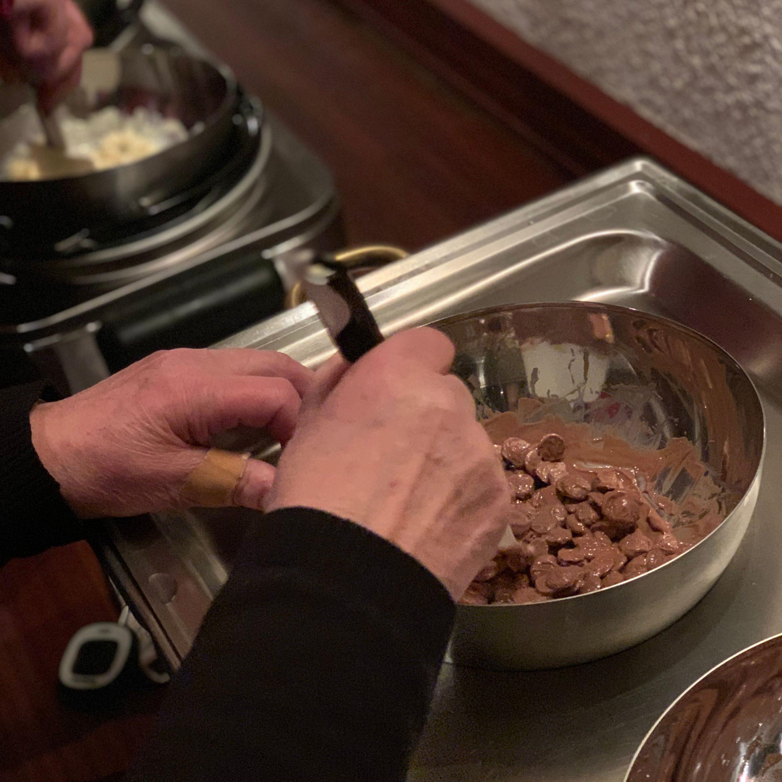 Workshop chocolade